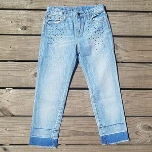 Gap kids size 10 regular girlfriend jeans nwot